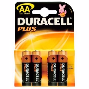 Duracell Batteri Plus Power AA - 4 stk.