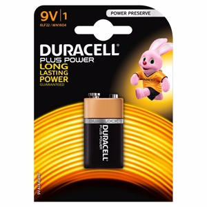 Duracell Batteri Plus Power 9V - 1 stk.
