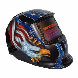 Moderne Svejsehjelm m/elektronisk glas - ørn. GP28
